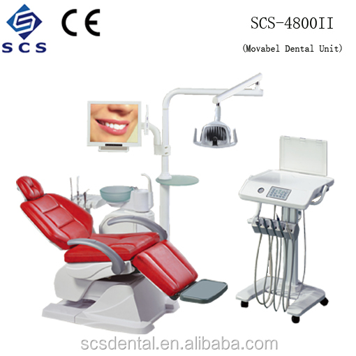 SCS Dental Chair Unit/ Luxurious LCD Monitor Intraoral Camera/Factory Price