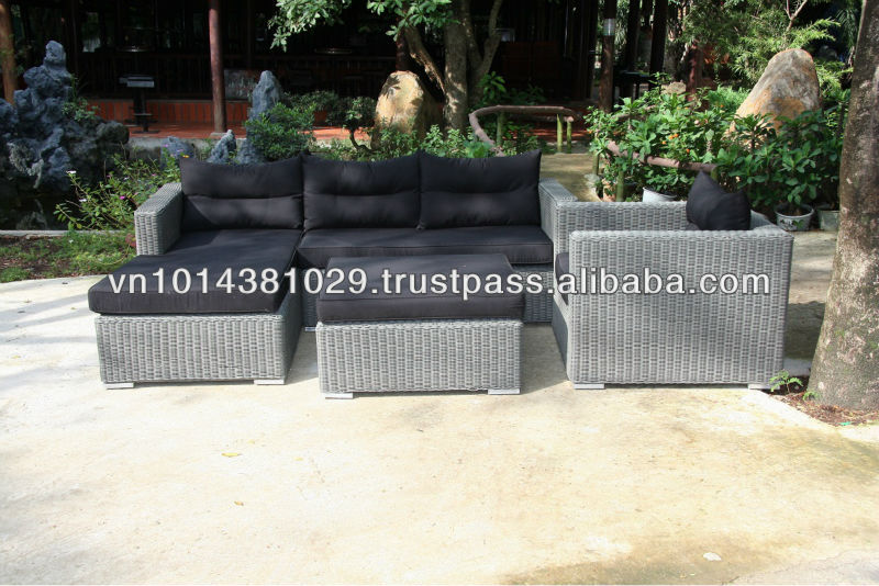 new design handmade rattan and wicker furniture manufacturer