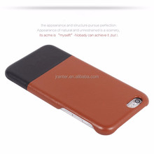 Manufacturer Wholesale Luxury Leather for iPhone 4 Back Cover Case for iPhone