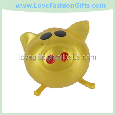 Promotional Gifts Venting Water Splat Ball/Sticky Pig Toys