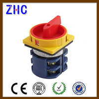 European 20a 25a 30a 40a 50a 63a 1p 2p 3p 4p 7p 10p postion 1-0-2 Electric voltmeter selector changover cam rotary switch
