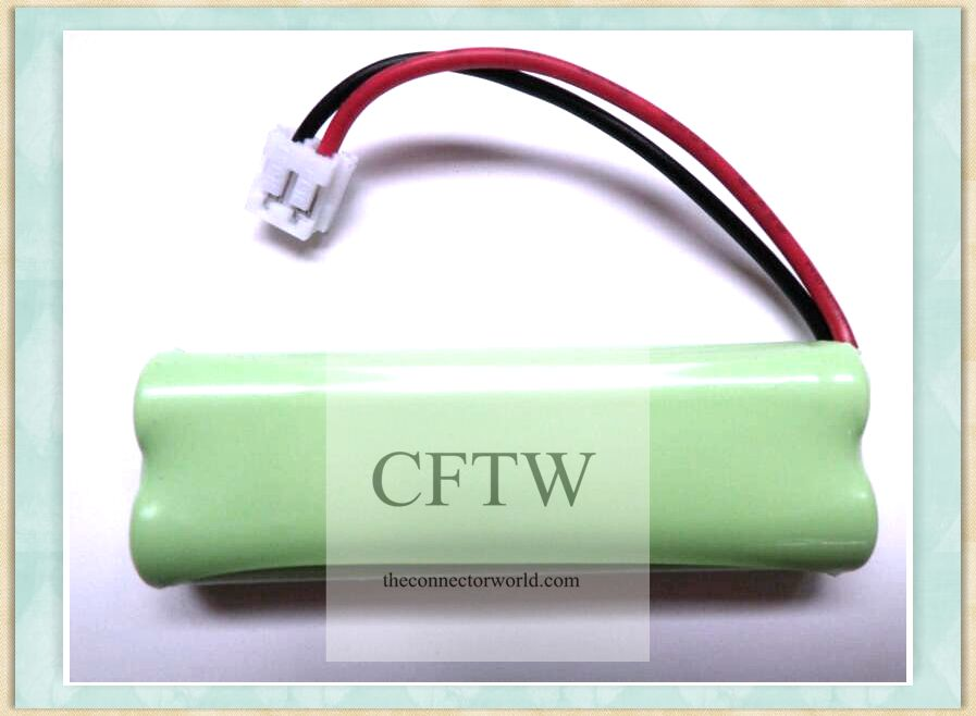 2.4V 600mAH NI-MH Cordless Home Phone Battery for Vtech BT18443 BT28443 BT-18443 BT-28443