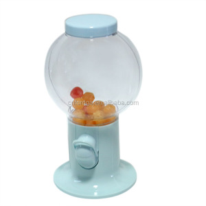 Light Blue Candy Dispenser Machine Gumball For Small Peanuts