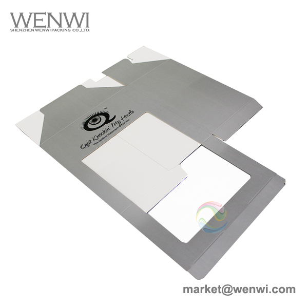 Low MOQ Square Foldable Paper Baseball Cap Packaging Box