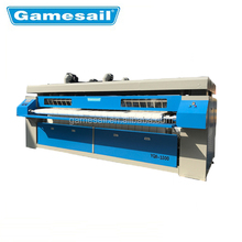 2018 best sale Modern laundry flatwork ironer, hotel favorite gas ironing machine,durable commercial industrial steam iron