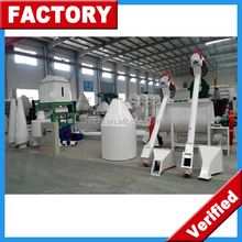 Specially Designed Small Capacity Easy Operation Low Cost Complete 1-2 t/h Livestock Feed Pellet Mill