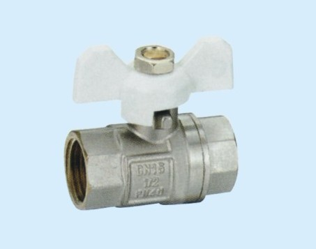 low price hand operated threaded brass gas ball valve dn15
