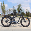 light weight 48V 750W electric mountain bicycle disc brake adult electric bike