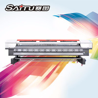 Customized eco solvent printer with epson dx7 printhead ballast manufactured in China