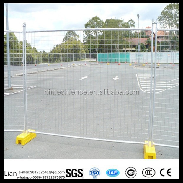 high zinc sweeden construction temporary fence Modular Welded dog panel factory
