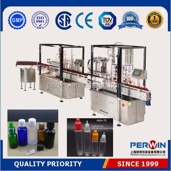 PERWIN liquid perfume bulb atomizer sprayer bottle,perfume pen filling and capping line