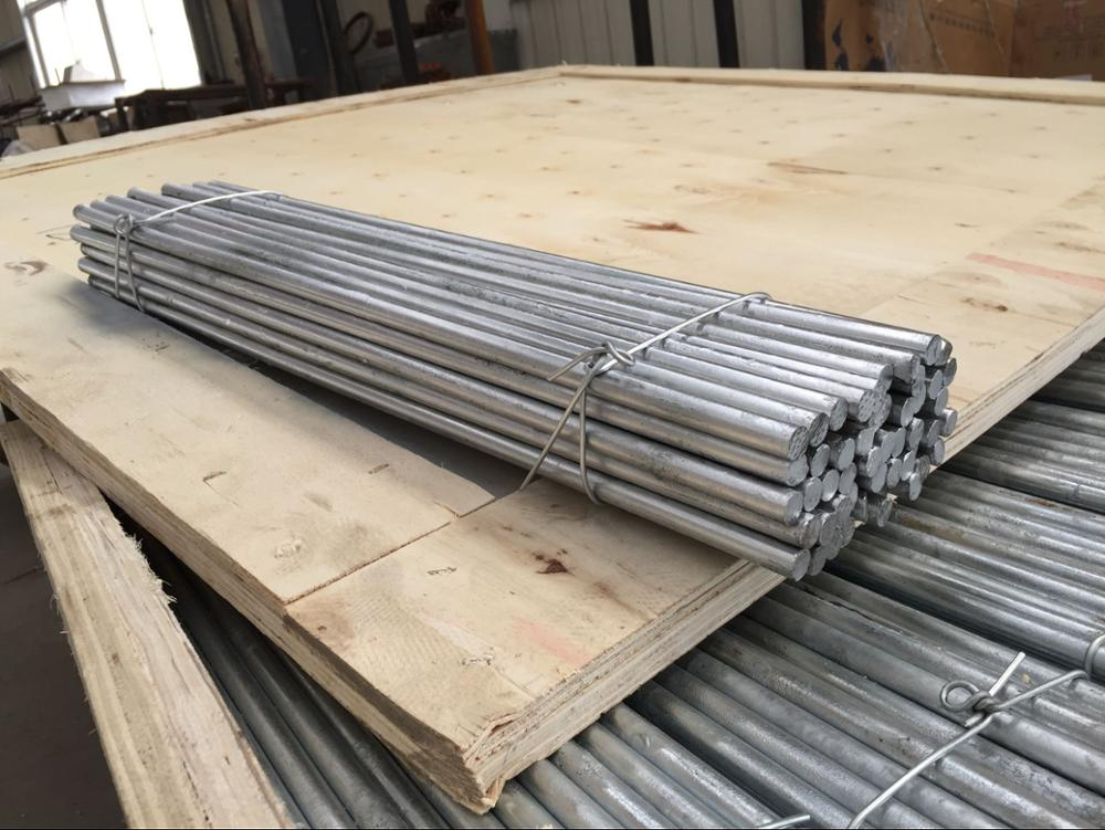 Prime hot dippd galvanized 12mm round steel bar