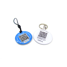 NFC QR Code Dog ID pet Tag