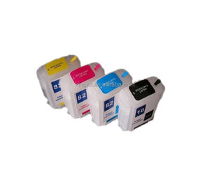 Kingjet 280ML long refill ink cartridge for HP 82 for HP 500 510 800 with chips
