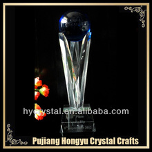 crystal champions league trophy