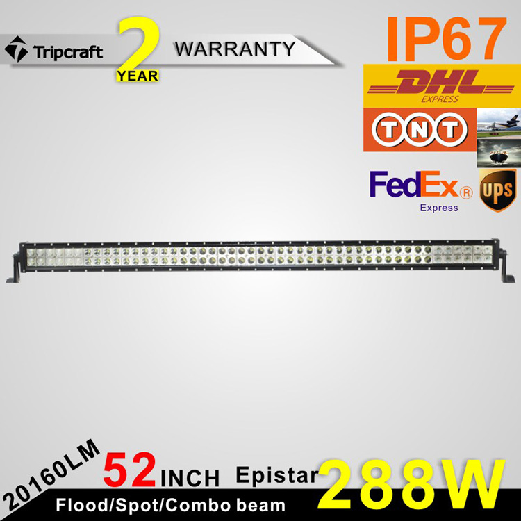 offroad necessary 288W 50 inch led driving headlamp automotive led light bar
