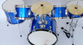 High grade TPJ 5 PCS drum set