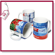 Sublimation White AAA Super Hard Coated 11oz mugs for Photo Paint