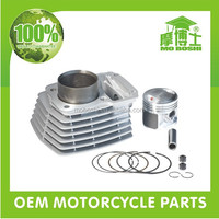 Aftermarket 4 stroke motorcycle engine 56.5mm big bore kit for 125cc