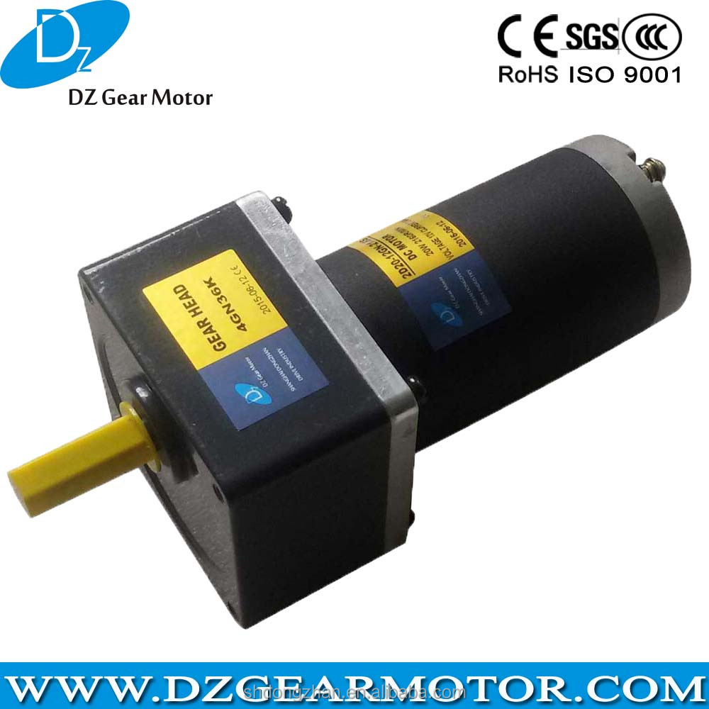 Wonderful High Torque small dc motor generator