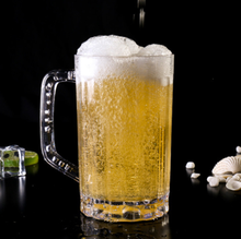 Factory sell beer mug plastic with cheap price