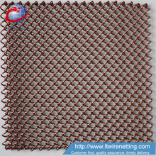 Architectural woven Sequin Mesh Fabric for Room Divider