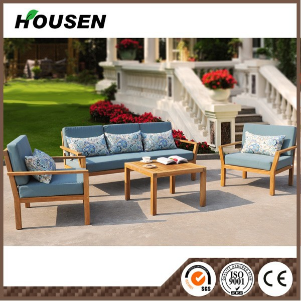 Teak wood outdoor furniture garden furniture outdoor dining table and chair G-2-1