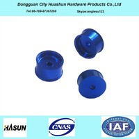 customized aluminum anodized turned parts,precision turned parts