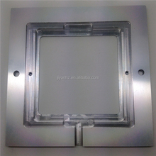 High polished square aluminum mechanical machining parts for LED light