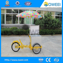 Electric tricycle food cart vending mobile food cart / tricycle cargo bike