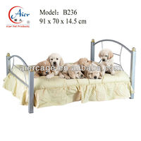 metal frame dog bed/ pet furniture
