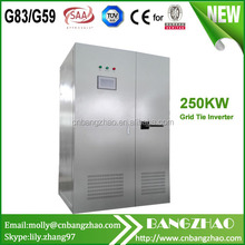 250kw solar power system split phase inverter