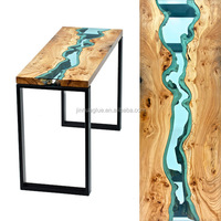 Wood Table Topcoat Glass Finish Epoxy Resin and Hardner