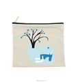 Small canvas zipper pouch bag wholesale