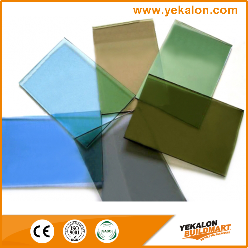 Yekalon Insulated Low-e Laminated Tinted Coated Tempered Architectural Glass