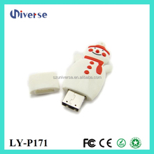 Snowman shape 8gb usb flash drive,usb flash drive japan,mini usb flash drives