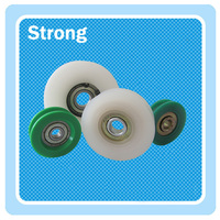 plastic pulley,customized made nylon/pom/pu pulley wheel,window & door pulley