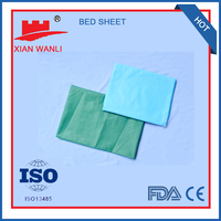 disposable non-woven hotel use bed sheet