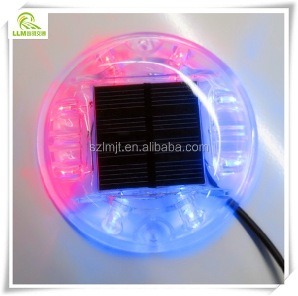 Electricity operated LED driveway reflective road markers tunnel light