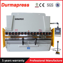 WC67YK 160T 3000mm 10feet DA41 aluminum iron plate hydraulic press brake for steel warehouse, cnc metal sheet bending machine