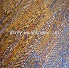 wood grain surface maple wood laminate flooring