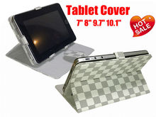 "Leather case for iPad 9 inch tablet pc, PC Tablet Case Size available 7"" 8"" 9.7"" 10.1"""