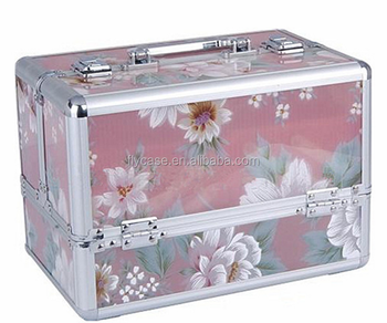 2017 new design acrylic makeup organizer,clear acrylic cosmetic case with packaging