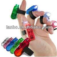 5 Pack Safety LED w/Clip-On Finger Light