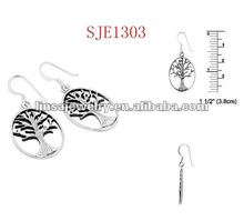 2012 new style couple day stainless steel earring