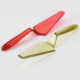 Transparent PS Pizza or Pie Server,Cake Cutter Slicer,Cheese Knives