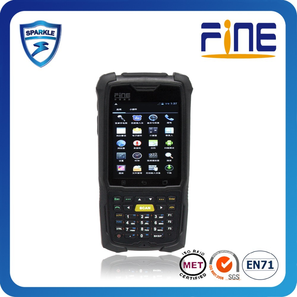 Rugged Ip67 wince/android 4.2 Mobile Smart Phone Uhf Rfid Pda With Wifi 3G Bluetooth waterproof mobile phone low price