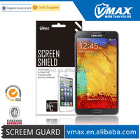 For Samsung note 3 clear screen protector with Japan II Package oem/odm (High Clear)