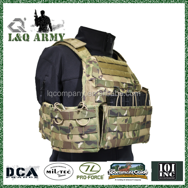 Wholesale Camouflage MOLLE Military Assault Tactical Vest For Hunting