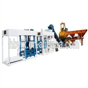 manufacturer price QT10-15 concrete machine to produce different types of bricks in Uganda